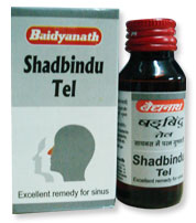 ����� � ��� �������� �������� 50�� Shadbindu Tel Baidyanath 50ml